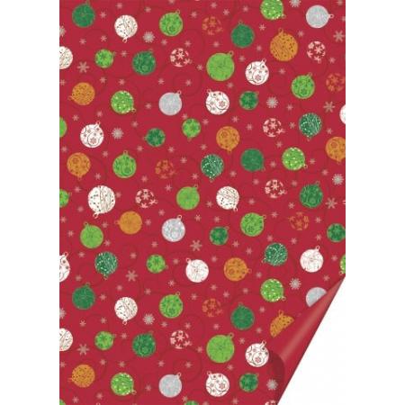Carton Noël Boule 50 x 70 cm