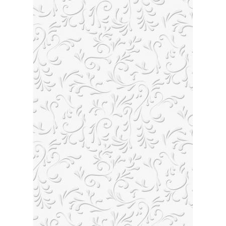 Carton gaufré 50x70 220g Roma blc