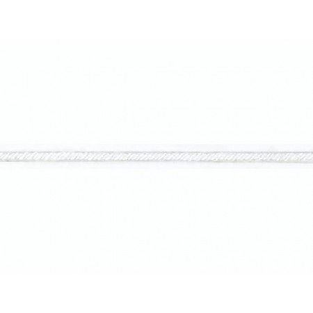 Cord.rayonne 2mm 50m blanc