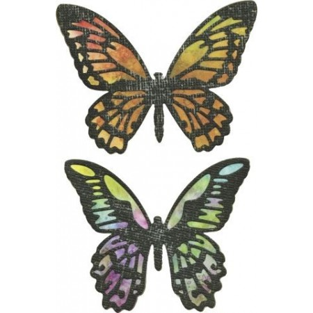 Thinlits Die Detailed Butterfly Tim Holz