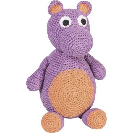 Kit animal en crochet Hippopotame