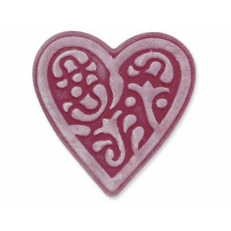 Embosslits Die Heart lace