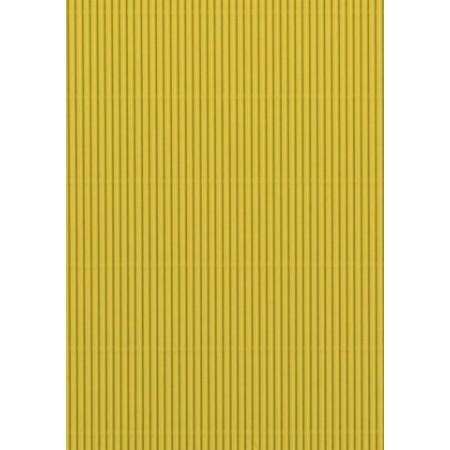 Carton ondulé 50x70 300g jaune