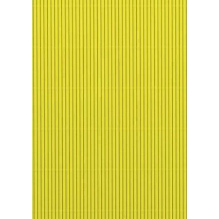 Carton ondulé 50x70 300g jaune clair