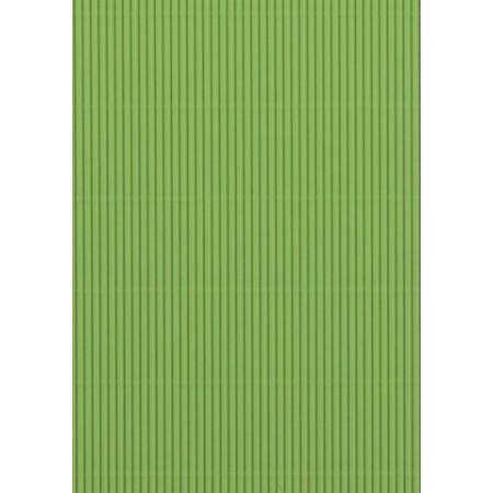 Carton ondulé 50x70 300g vert clair