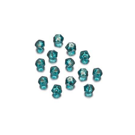 Perles polies Antique turquoise 7 mm