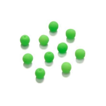 Perle néon 4 mm vert