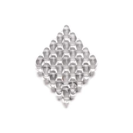 Duo Beads 2 trous 2,5 x 5 mm cristal transparent 12g