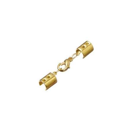 Fermoir complet doré, 2 mm