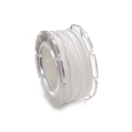 Cordon ciré 0,6mm,10m blancSB1
