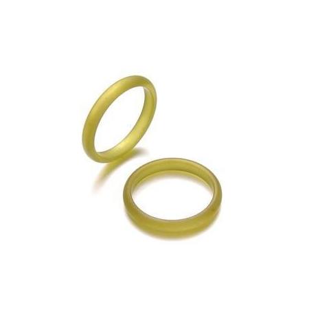 Bague Polaris3mm,taille18 olive