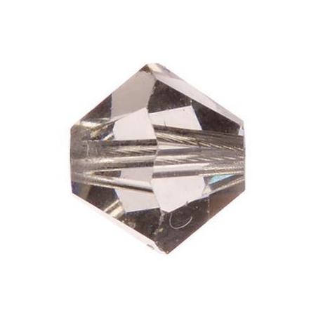 Perle toupie 4mm black diamond Swarovski