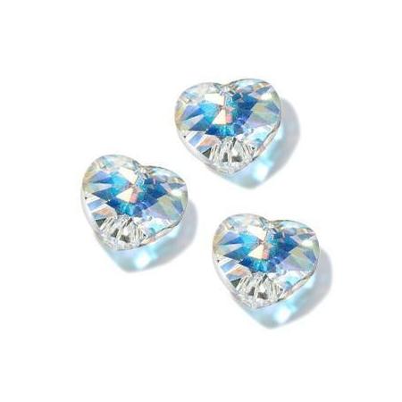 Perle Swarowski pendentif coeur 14,4x14mm