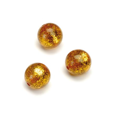 Perles Polaris Scintillante 12mm rouille