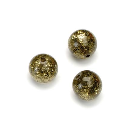 Perles Polaris Scintillante 12mm boue