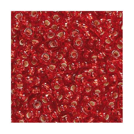 Rocailles à broder/boîte rouge 17 grs