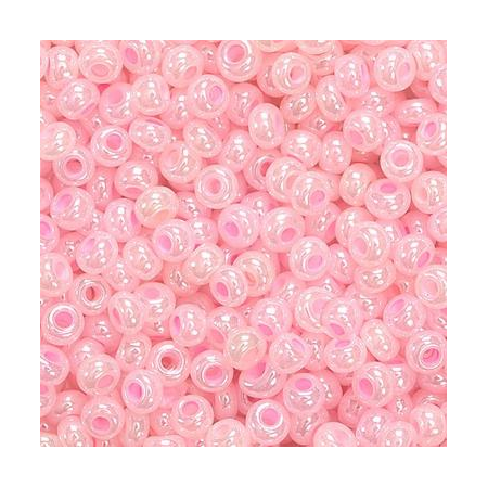 Rocailles indiennes 2,5mm rose 20 grs